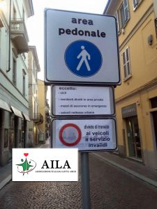 pavia cartello ztl no disabili